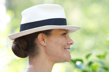 Princess Victoria Victoria of Sweden and Mette Marit of Norway Take Part in Climate Pilgrimage 2015