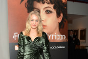 """(EXCLUSIVE COVERAGE) Elizabeth Gilpin attends a private screening of the restored """"Fellini Satyricon"""" hosted by Dolce & Gabbana at the 50th New York Film Festival at the Francesca Beale Theater at Lincoln Center on October 13, 2012 in New York City."""