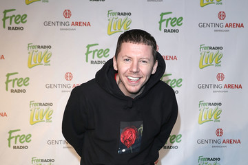 Professor Green Free Radio Live 2016 - Press Room