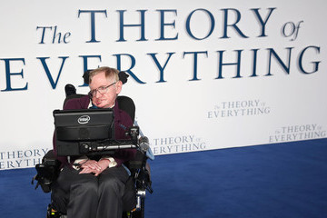 Professor Stephen Hawking 'The Theory of Everything' Premiere in London