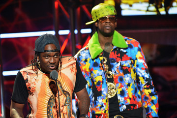 Pusha-T 2 Chainz BET Hip Hop Awards 2012 - Audience and Show