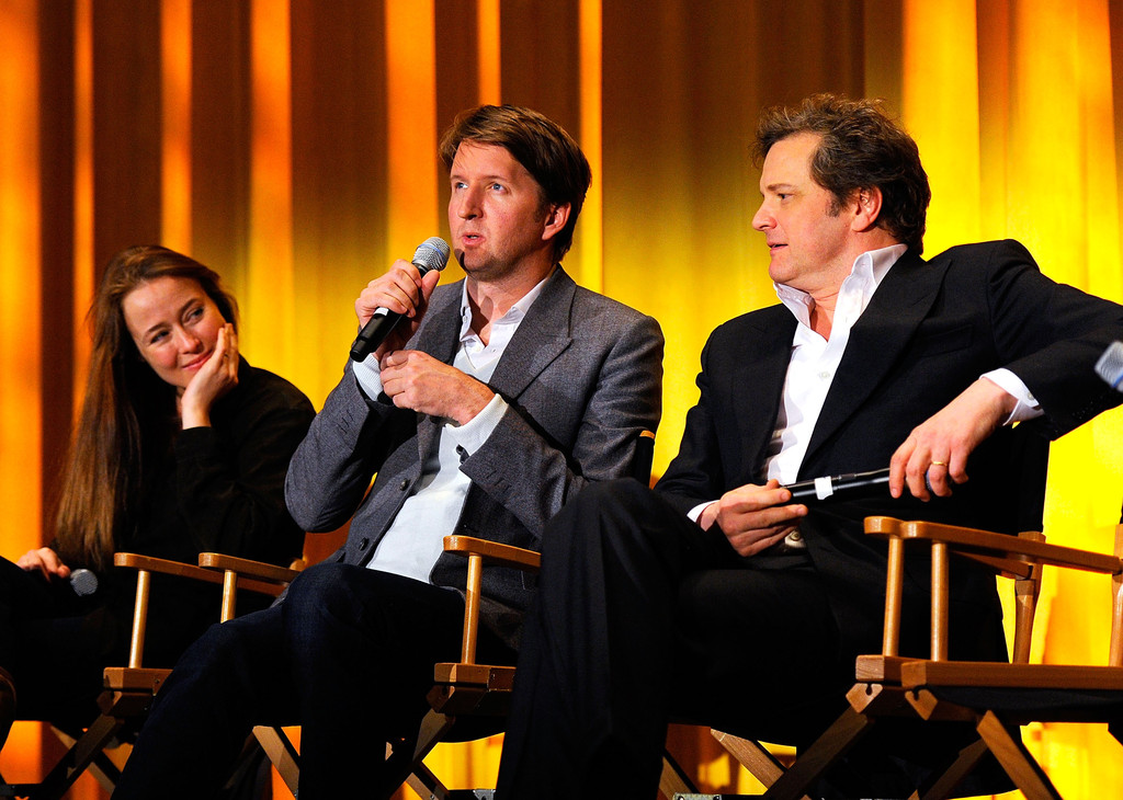 colin firth and jennifer ehle photos photos q a following a special screening of the weinstein. Black Bedroom Furniture Sets. Home Design Ideas