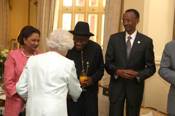 Kamla Persad-Bissessar Queen Attends CHOGM - Day 1