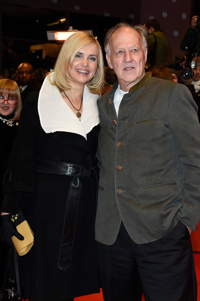 photo lena herzog werner herzog director werner herzog with his wife