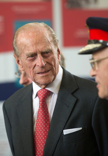 Prince Philip, The Duke of Edinburgh visits the Chapel to view the restoration and meet local people involved with the project at the Royal Dockyard Chapel during an official visit on April 29, 2014 in Pembroke Dock, United Kingdom. This year sees the 200th anniversary of the town of Pembroke Dock. The Royal Dockyard Chapel has undergone a restoration project to become the base for Pembroke Dock's Heritage Centre which celebrates 200 years of a unique naval and military community.