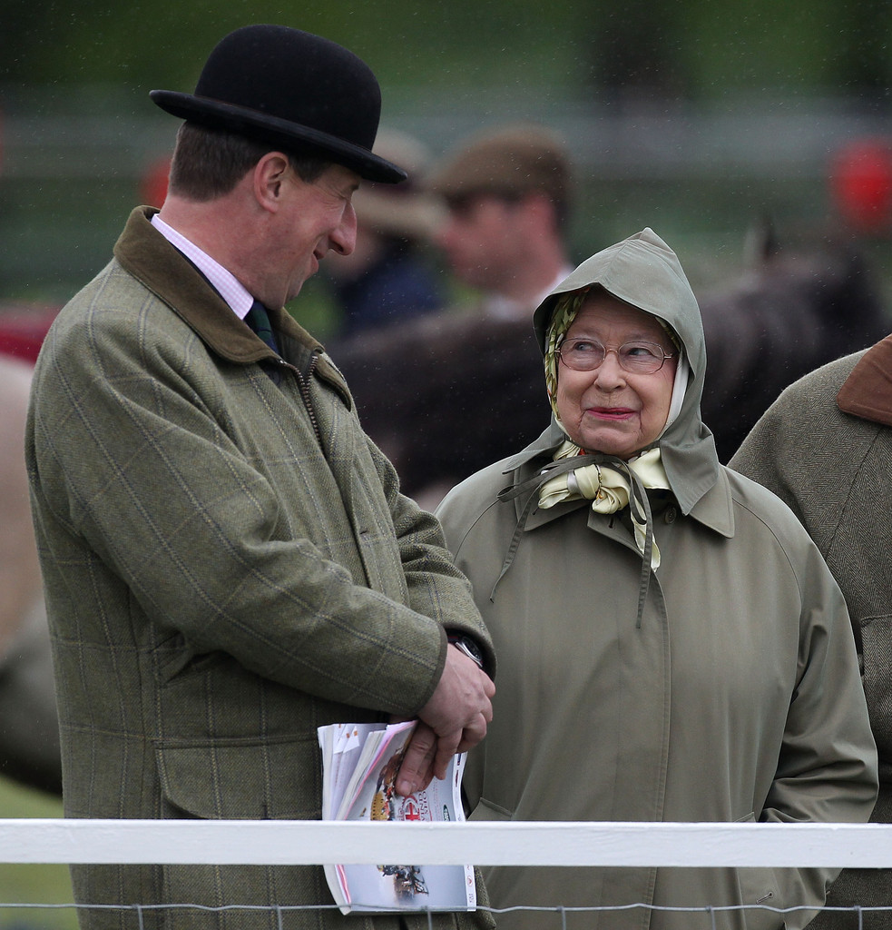 Queen Elizabeth II - Attendees at the Royal Windsor Horse Show — Part 5