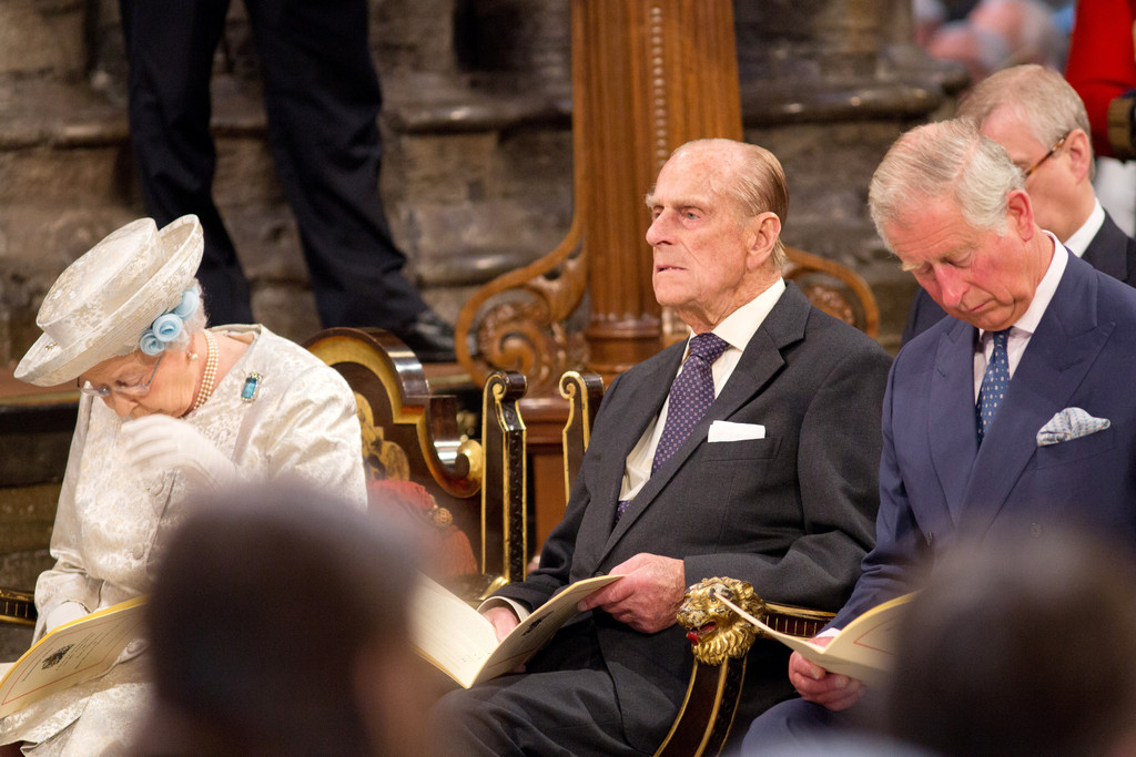 Queen Elizabeth Ii And Prince Philip 2013 Arrivals at the 60th A...