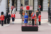 Queen Elizabeth II and  Prince William, Duke of Kent stand at Buckingham Palace during the annual Trooping the Colour Ceremony on June 15, 2013 in London, England. Today's ceremony which marks the Queens official birthday will not be attended by Prince Philip the Duke of Edinburgh as he recuperates from abdominal surgery and will also be The Duchess of Cambridge's last public engagement before her baby is due to be born next month.
