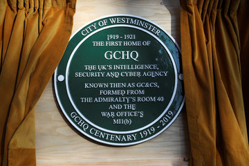 Queen Elizabeth II The Queen Visits Watergate House To Mark The Centenary Of GCHQ