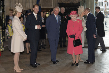 Queen Elizabeth II Countess of Wessex Commonwealth Observance at Westminster Abbey