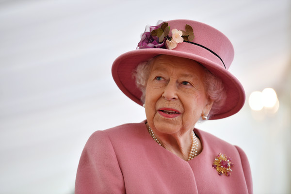 European Best Pictures Of The Day - October 15 [best pictures of the day,pink,hat,skin,sun hat,smile,headgear,fashion accessory,human,fun,happy,elizabeth ii,staff,displays,weaponry,european,britain,science park,defence science and technology laboratory,visit,queen elizabeth ii,sandringham estate,monarch,defence science and technology laboratory,london,the crown,wset,military base]
