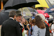 Prince Edward, Duke of Kent attends a garden party held at Buckingham Palace on June 3, 2013 in London, England.