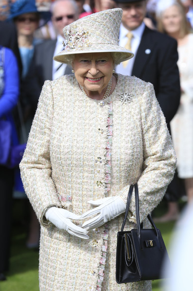 Queen Elizabeth II Hosts Garden Party at Buckingham Palace