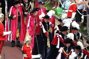 Prince William, Duke of Cambridge and Prince Charles, Prince of Wales, Prince Andrew, Duke of York, Prince Edward, Earl of Wessex, Princess Anne, Princess Royal and Prince Edward, Duke of Kent attend the annual Order of the Garter Service at St George's Chapel on June 18, 2011 in Windsor, England. The Order of the Garter is the senior and oldest British Order of Chivalry, founded by Edward III in 1348. Membership in the order is limited to the sovereign, the Prince of Wales, and no more than twenty-four members.
