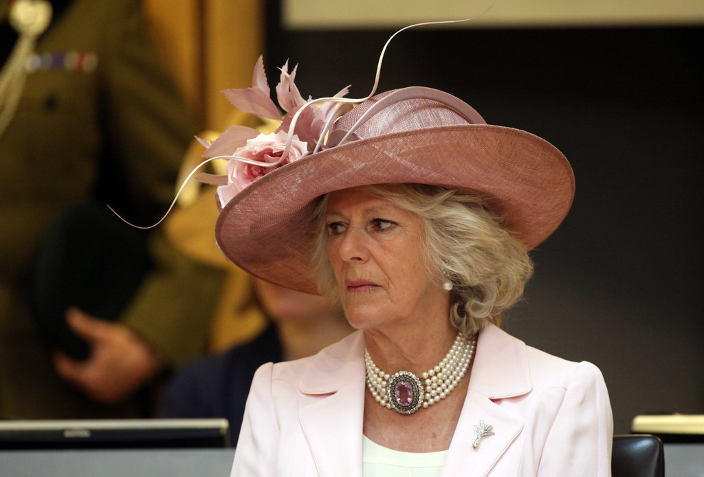 Camilla Parker Bowles >> Camilla Parker Bowles Photos Photos - Queen Elizabeth II Opens 4th Session Of The National ...