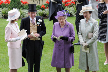 Queen Elizabeth II Princess Anne Ladies Day at the Royal Ascot Racecourse — Part 12