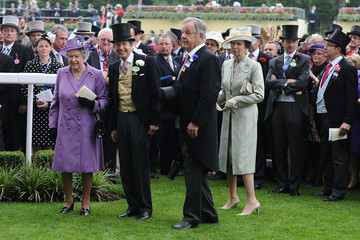 Queen Elizabeth II Princess Anne Ladies Day at the Royal Ascot Racecourse — Part 13
