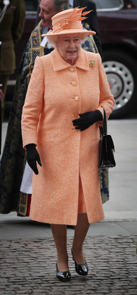 Queen Elizabeth II Attends The Commonwealth Day Observance At Westminster Abbey