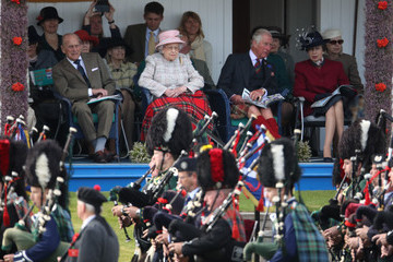 Queen Elizabeth II The 2017 Braemar Highland Gathering