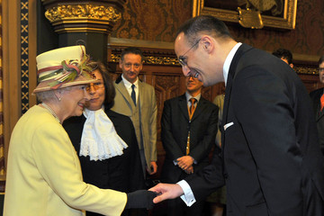 Michael Ellis Queen Elizabeth II Receives The Addresses From Both Houses Of Parliament