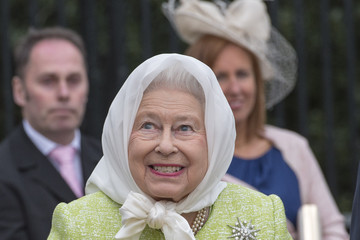 Queen Elizabeth II The Queen & Duke of Edinburgh Carry Out Engagements in Windsor on Her Majesty's 90th Birthday