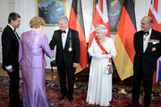 Angela Merkel and Queen Elizabeth II Photos Photo