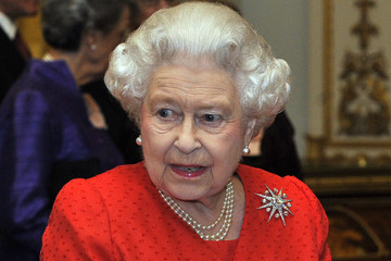 Queen Elizabeth II The Queen Hosts Reception To Mark The 800th Anniversary Of Magna Carta