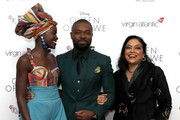Actors Lupita Nyong'o, David Oyelowo and director Mira Nair attend the 'Queen Of Katwe' Virgin Atlantic Gala screening during the 60th BFI London Film Festival at Odeon Leicester Square on October 9, 2016 in London, England.