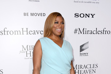 Queen Latifah Dana Elaine Owens Premiere of Columbia Pictures' 'Miracles from Heaven' - Arrivals