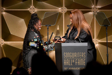 Queen Latifah Songwriters Hall Of Fame 50th Annual Induction And Awards Dinner - Show