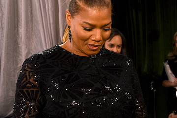 Queen Latifah The 22nd Annual Screen Actors Guild Awards - Trophy Room