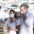 Queen Letizia of Spain King Felipe of Spain Spanish Royals Visit Ibiza