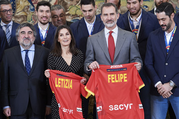 Queen Letizia of Spain King Felipe VI of Spain European Best Pictures Of The Day - January 28