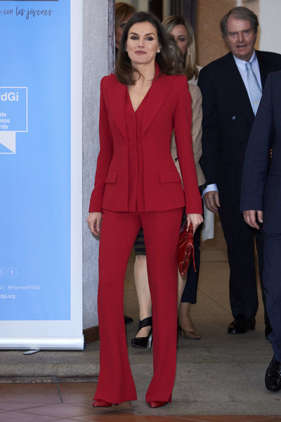 Queen Letizia Of Spain Attends 'Premio Fundacion Princesa De Girona 2019' In Caceres