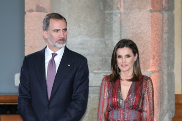 Queen Letizia of Spain Spanish Royals Attend National Culture Awards