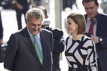 Queen Letizia of Spain Queen Letizia of Spain Attends the Red Cross World Day