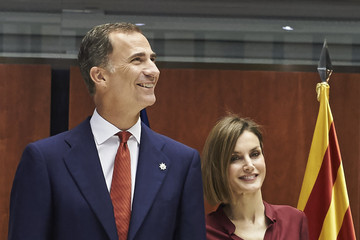 Queen Letizia of Spain Spanish Royals Attend an Official Lunch at the Constitutional Court