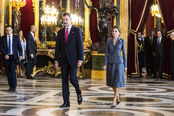 Queen Letizia of Spain Spanish Royals Attend the National Day Military Parade