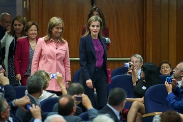 Queen Letizia of Spain Spanish National Transplant Organization Ceremony