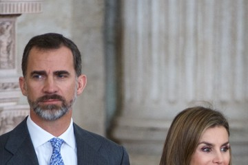 Queen Letizia of Spain Spanish Royals Attend Investigation National Awards
