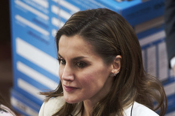 Queen Letizia of Spain Queen Letizia of Spain Attends 'Princess of Girona Foundation' Prize in Arts and Literature