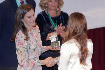 Queen Letizia of Spain Queen Letizia Attends The 'Cancer Research World Day' Event