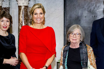 Queen Máxima The Netherlands Royal Family Attends The Erasmus Ceremony At The Royal Palace In Amsterdam