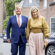 Queen Máxima King Willem-Alexander Of The Netherlands And Queen Maxima attend Award The Oranje Fonds Ceremony In Hilversum