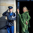 Queen Máxima Dutch Royal family Attends A gala Diner For Corps Diplomatique At Royal Palace In Amsterdam
