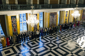 Queen Margrethe II Danish Queen Margrethe Holds New Year's Reception For Parliament Members