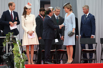 Queen Mathilde of Belgium A Service of Remembrance Ceremony