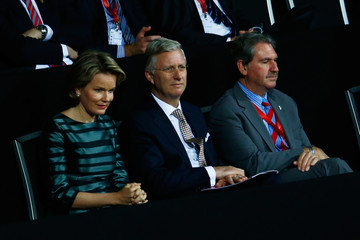 Queen Mathilde of Belgium Belgium v Great Britain: Davis Cup Final 2015 - Day One