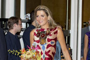 Queen Maxima King Willem-Alexander of the Netherlands & Queen Maxima Attend the 'Ode aan de Meester' Ballet Premiere in Amsterdam
