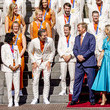 Queen Maxima King Willem-Alexander And Queen Maxima Wellcome Dutch Olympics Medal Winners